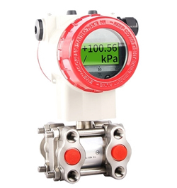 Air/water/oil differential pressure sensor output 4-20mA HART