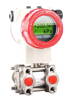 Differential pressure sensor for differential pressure measurement